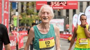 One day Ed Whitlock won't be able to run a sub-4:00 marathon. Sunday, apparently, was not that day.