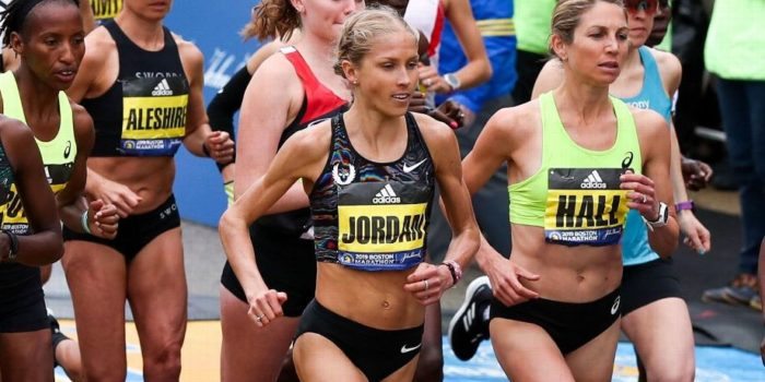 How A Future Olympian Saved Her Running